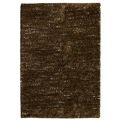 Revathi Hand-Woven Brown Area Rug Rug Size: 8 x 10