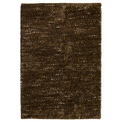 Revathi Hand-Woven Brown Area Rug Rug Size: 2 x 3