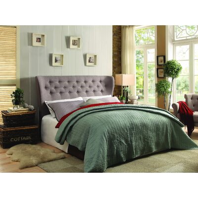 Baumann Upholstered Platform Bed Size: Queen