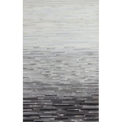 Leslie Flat woven Multi-color Area Rug Rug Size: 8 x 10