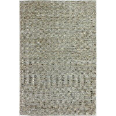 Deklan Hand-Woven Grey Area Rug Rug Size: 76 x 96