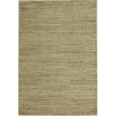 Ricky Hand-Woven Natural Area Rug Rug Size: 5 x 76