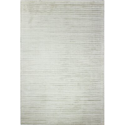 Micheal Flat woven Platinum Area Rug Rug Size: 76 x 96