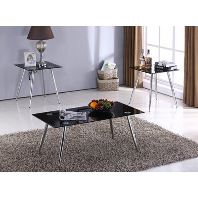 Mizuno 3 Piece Coffee Table Set