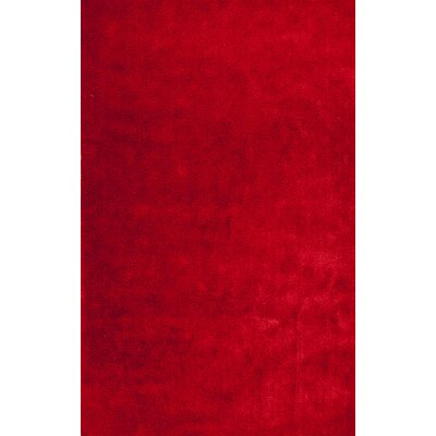 Andre Tomato Red Indoor/Outdoor Area Rug Rug Size: 33 x 53