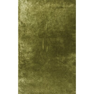 Andre Leaf Green Indoor/Outdoor Area Rug Rug Size: 76 x 96
