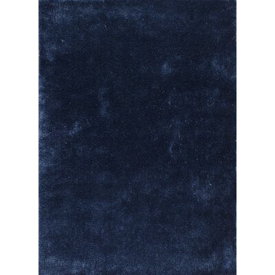 Andre Indigo Indoor/Outdoor Area Rug Rug Size: 76 x 96