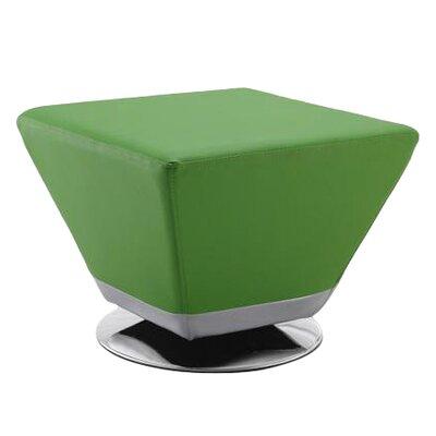 Tony Cocktail Ottoman Upholstery: Green