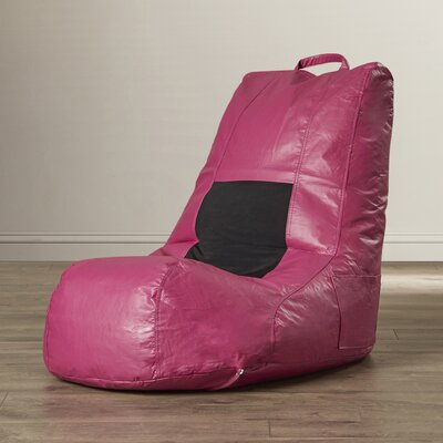 Vinyl Bean Bag Chair Upholstery: Plum Matte