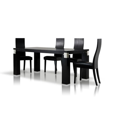 Belafonte Dining Table Finish: Black Oak