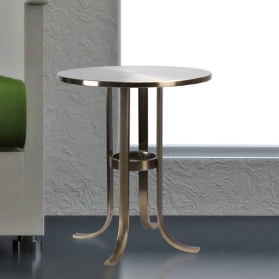 Seydou End Table Color: Antique Brass