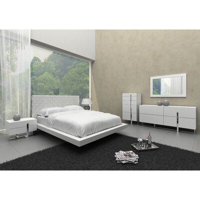 Clower Platform 5 Piece Bedroom Set Size: Queen