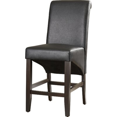 Coombe Dingle 25 Bar Stool Upholstery: Jet Black