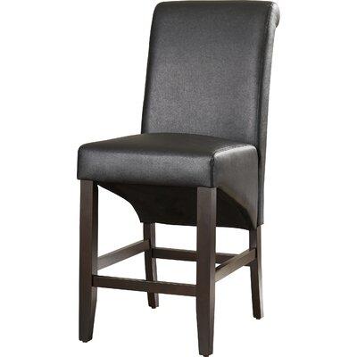 Coombe Dingle 25 Bar Stool Upholstery: Jet Black