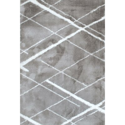 Chelsie Gray Area Rug Rug Size: Rectangle 4 x 6