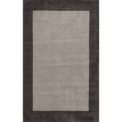 Kaufman Hand-Tufted Charcoal Area Rug Rug Size: 5 x 8