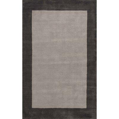 Kaufman Hand-Tufted Charcoal Area Rug Rug Size: 76 x 96