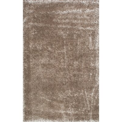 Hendricks Light Brown Area Rug Rug Size: 53 x 76
