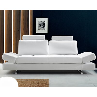 Aubrey Leather Sofa