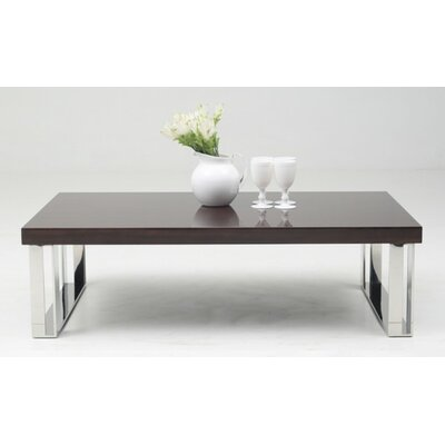 Clower Modern Rectangle Coffee Table