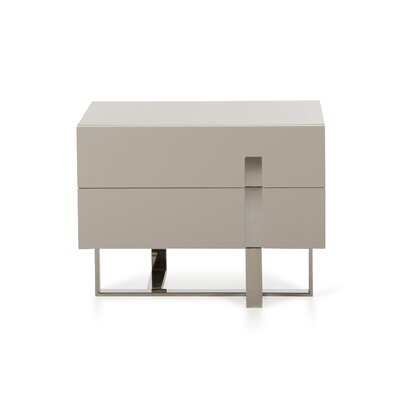 Calmar 2 Drawer Nightstand