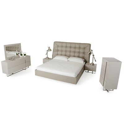 Sommerset Upholstered Platform Configurable Bedroom Set