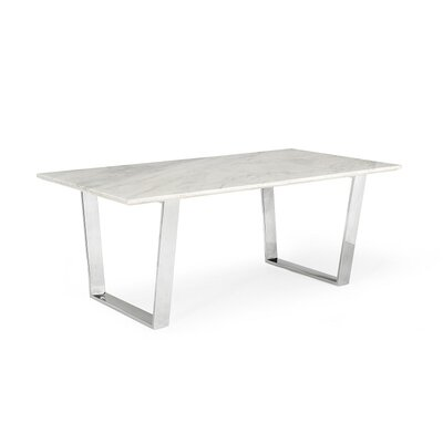 Clower Marble Top Dining Table
