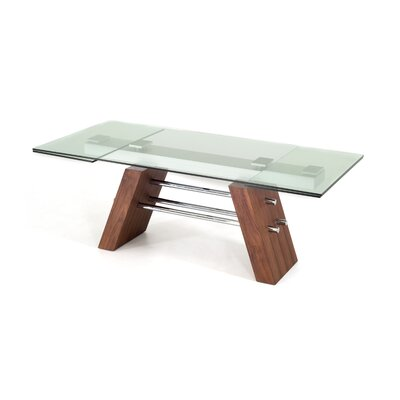 Clower Contemporary Extendable Dining Table