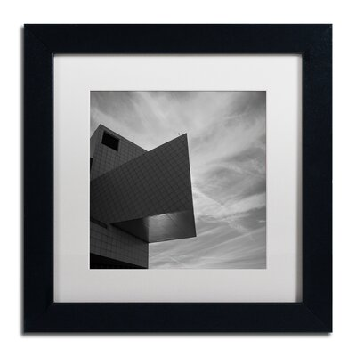 "'Rock and Roll Hall of Fame Abstract' Framed Photographic Print on Canvas Size: 11"" H x 11"" W x 0.5"" D OREL6227 41161504"