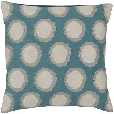 Earlscourt Linen Throw Pillow Color: Teal