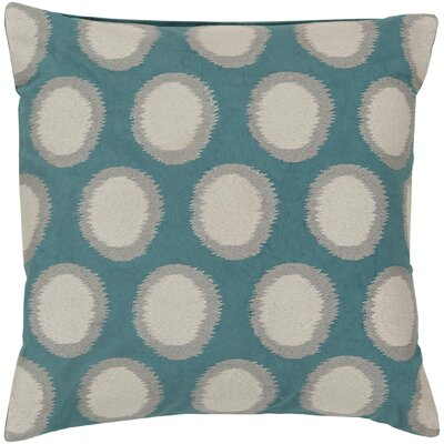 Mcelhaney Linen Throw Pillow Color: Teal