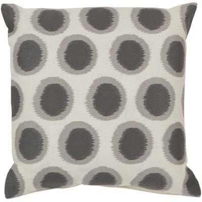 Earlscourt Linen Throw Pillow Color: Gray