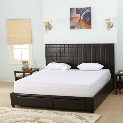 Borgman Upholstered Panel Bed Size: Queen