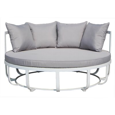 Tallmadge Day bed with Cushions Fabric: Taupe