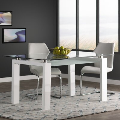 Gillespie Dining Table Finish: White