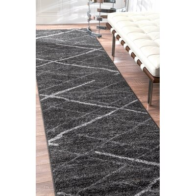 Herring Gray Area Rug Rug Size: Rectangle 67 x 9