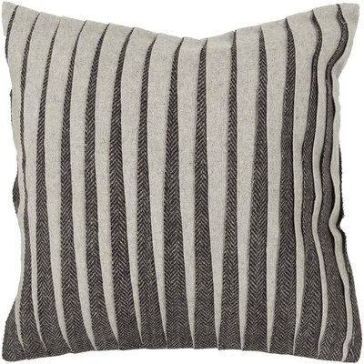 Haskins Wool Throw Pillow Size: 18 H x 18 W