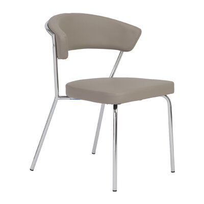 Kyndall Side Chair Upholstery: Taupe