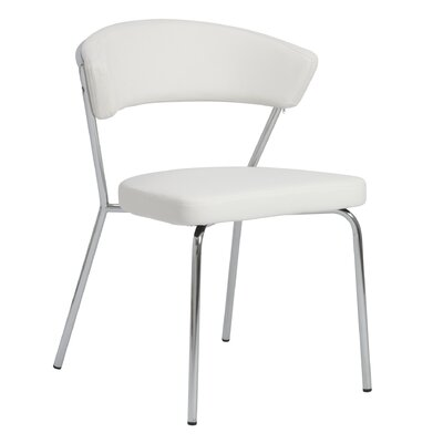 Bielecki Side Chair Upholstery: White