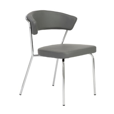 Kyndall Side Chair Upholstery: Gray