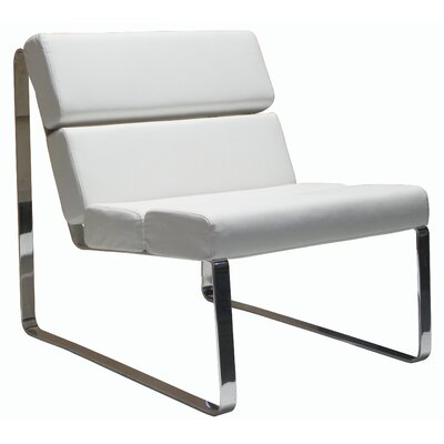 Brayden Angel Lounge Chair Upholstery: White