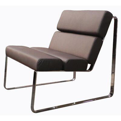 Dorian Angel Side Chair Color: Chocolate