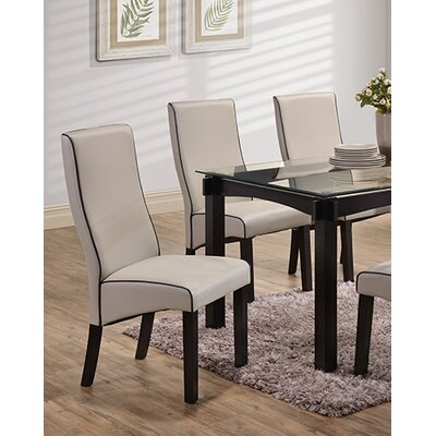 Petaluma Parsons Chair Color: Gray