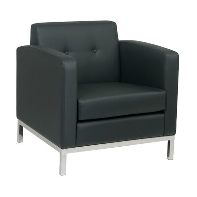 Mapleton Armchair Upholstery: Black