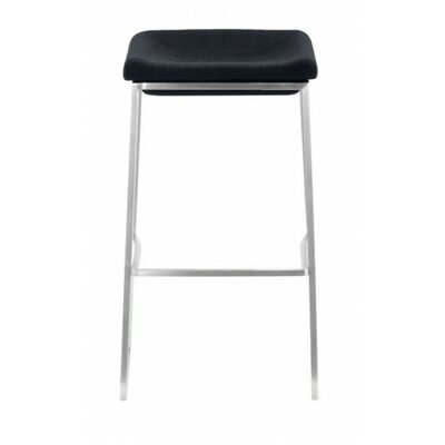 Darby 29.9 inch Bar Stool Seat Color: Dark Gray