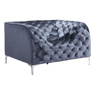 Escobar Arm Chair Fabric: Gray