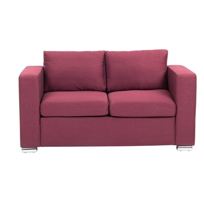 Windsor Hills Loveseat Finish: Burgundy