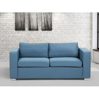 Omar Sofa Finish: Blue