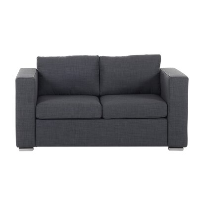 Windsor Hills Loveseat Finish: Dark Gray
