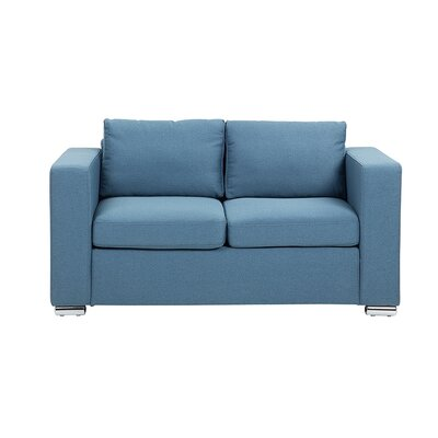 Windsor Hills Loveseat Finish: Blue